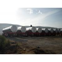 30000L Hot Asphalt Trailer 30 M3  40 M3  50 M3 Customized Pump Capacity Manufactures