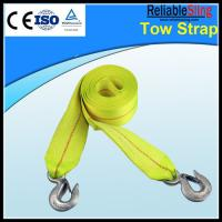 Colour Width Customized Heavy Duty Tow Straps Polyester Tow Car Manufactures