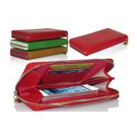 Red Apple Iphone Leather Flip Case For Iphone 5 , Custom Cellphone Protection Case Manufactures
