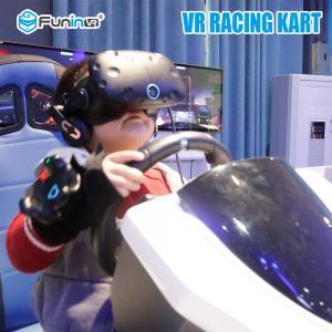 Sheet Metal 9D Virtual Reality Simulator Car Entertainment System Amusement Park Go Karts Manufactures