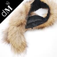 Real rabbit fur collar rhinestone for women dress DMKH0003 clothing trimmings Manufactures