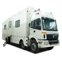 FOTON  6x2 Outdoor Mobile Camping Truck With Living Room and Kitchen Manufactures