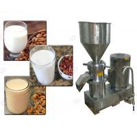 China Electric Driving Industrial Nut Butter Grinder Cashew Almond Milk Maker Machine on sale