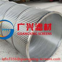 Paper mills  Sewage Industry SS304 WEDGE WIRE ROTARY DRUMS Manufactures