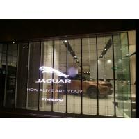 Quality P6mm Full Color Transparent LED Screen Indoor Usage Glass LED Display Outdoor for sale