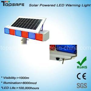 New Design High Brightness Flashing Solar Traffic Warning Light (TS-WP-1) Manufactures