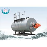 Oil / Hot Water Industrial Steam Boiler Freezing Cold Winter Night Safe Operation Manufactures