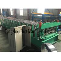 House Building Double Layer Two Profiles Roof Sheet Roll Forming Machine Manufactures