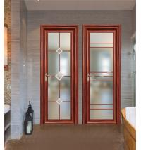 80x35 concave surface  aluminum glass door good quality interior doors sound proof aluminum casement door Manufactures