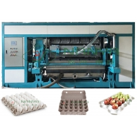 China Stable Automatic Paper Pulp Molded Egg Tray Machine 5000pcs/H on sale
