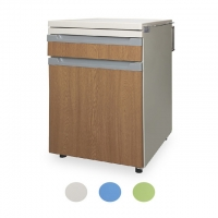 China CE FDA Compact Hospital Bedside Cabinet With Drawer on sale