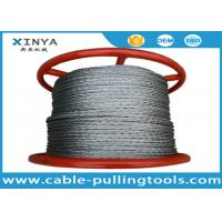 Anti Twisting Galvanized Braided Wire Rope Non Rotating 1000 Meter Per Reel Manufactures