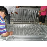 China Dipped In Zinc bath Crowd Control Barrier on sale