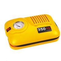250psi Car Air Compressor Plastic Material , 2 In 1 Vehicle Air Compressor Dc 12v Manufactures