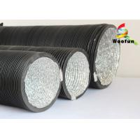 Commercial 12 Round HVAC Duct Aluminum PVC Lightweight Single Layer Manufactures