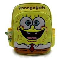 Custom Fashion Sponge Bob Kids School Backpacks For Children Manufactures