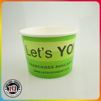 China China wholesale disposable ice cream paper container on sale