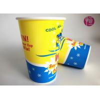 Cold Beverage Cups 9oz Top 73mm Soft Drink Paper Cold Soda Cup Manufactures