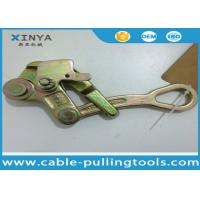 Steel Pulling Grip Come Along Clamp For ACSR or AAC , Wire Rope Grip Manufactures
