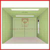Freight High Speed Elevator Painted Steel Vvvf Variable Frequency Door Machine Manufactures