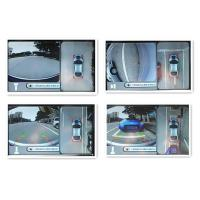 High Definition Car Rearview Camera System With 4 Channels DVR For AUDI A6, Bird View System Manufactures