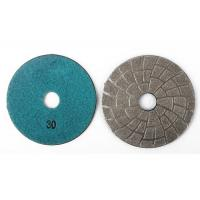 Professional Vacuum Brazed Diamond Tools Granite Sanding Discs 30# 3 Inch Manufactures
