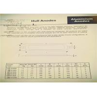 Magnesium hull anode Magnesium Tank anti corrosion high potential Manufactures