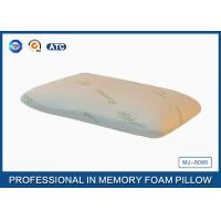 Rectangle Small Portable Traditional Memory Foam Body Pillow , PU Memory Foam Manufactures