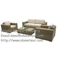 Garden Deluxe Rattan 4 Piece Furniture Set – Brown & Cream And Black & Pale Grey Available Manufactures