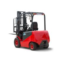 3000mm Lifting Height Electric Forklift Truck / Electric Powered Forklift CPD25J Manufactures
