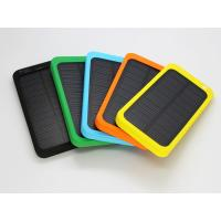 Wireless Waterproof Polymer Solar Energy Power Bank 4000mAh Solar portable Charger Manufactures