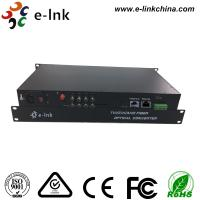 8 Ch 1080P AHD Video Cctv Media Converter 1 Ch Backward Data RS485 Type 20km Transmission Manufactures