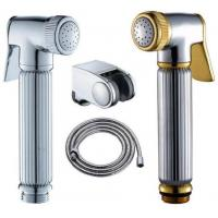 ABS Bathroom Bidet Spray , Hand Held Sprayer For Tolit With Stainless Steel Manufactures