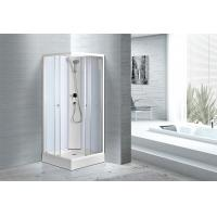 Modern Moulded Shower Cubicles 800 X 800 X 1950 MM Free Standing Type Manufactures