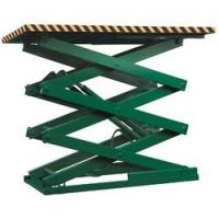 Electric Hydraulic Scissor Lift / Lifting Table work Platforms High manganese steel Load 0.1ton-28ton Manufactures