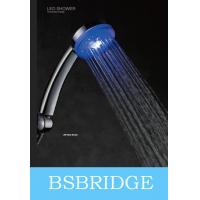 BSBRIDGE Water Power LED Hand Shower,Blue,Green,Red Color Changing with Water Temperature Manufactures