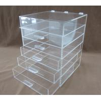 China Customized Makeup Cosmetic  Plastic Display Stand 120 * 2200 * 200mm on sale