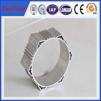 Electric motor shell extruded aluminum profile from jiangyin city china Manufactures