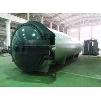 Auto Glass Laminated , Glass Autoclave With ASME U stamp ISO certificate or CE certificate Manufactures