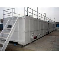 China Drilling Mud recycling system Horizontal Storage Mud Tank drilling waste fluid management on sale