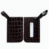 Leather Luggage Straps, Quick-action, Side Release Buckle, Flexible, Durable, OEM Orders Accepted Manufactures