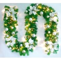 Christmas decorations  wreath door act the role of cane wreaths hanging loop window medallion set decoration supplies Manufactures