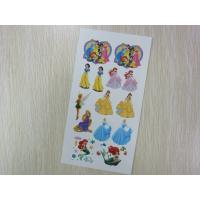China Lovely Princess Temporary Body Tattoo Stickers on sale