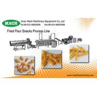 PLC optional Fried Wheat Flour Snacks machine Manufactures