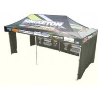 Instant Party / Trade Show / Event aluminium pop up gazebo with 3 walls , Heat Transfer Printing Manufactures
