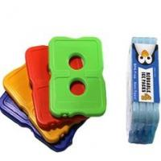 Two holes hard plastic slim cool cooler food gel ice pack for cooler bag Manufactures