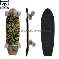 Customized 100% Canadian Maple Skateboard, 33*9 Inch Completes Kareboard with 6 Scrub Paris Truck Manufactures