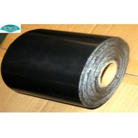 China Corrosion Protection Pipelines PVC Pipe Wrap Tape with Butyl Rubber / Bitumen Adhesive on sale