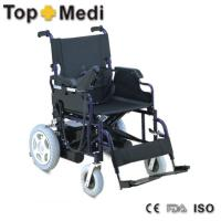 Quality 83*44*89 cm Powder coating steel foldable lightweight Electric Mobility Wheelchair for sale
