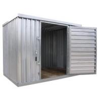 6x4ft sturdy metal shed with sliding double door Manufactures